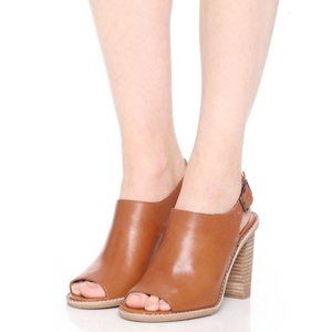 NIB Madewell The Cary Sandal Amber Brown Women's 9